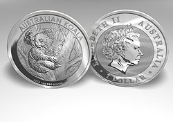 silver for sell or buy history prices, Silver Australian Koala       official 1oz bullion coin