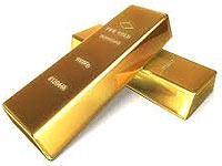Gold bullion bars and rounds price